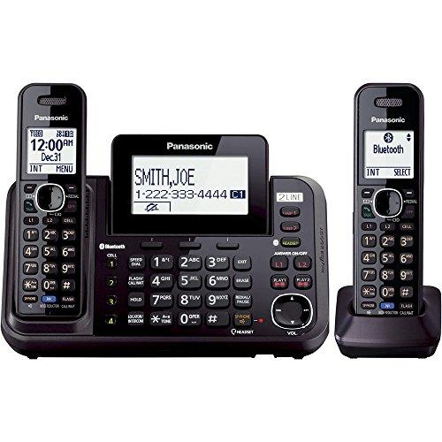 Panasonic KX-TG9542B Link2Cell Bluetooth Enabled 2-Line ...