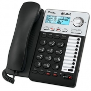 AT&T ML17929 2-Line Corded Telephone, Black