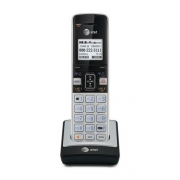 AT&T TL86003 Accessory Handset with Caller ID/Call Waiting for TL86103, Silver/Black