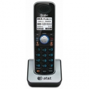 AT&T TL86009 DECT 6.0 Accessory Handset for TL86109, Silver/Black