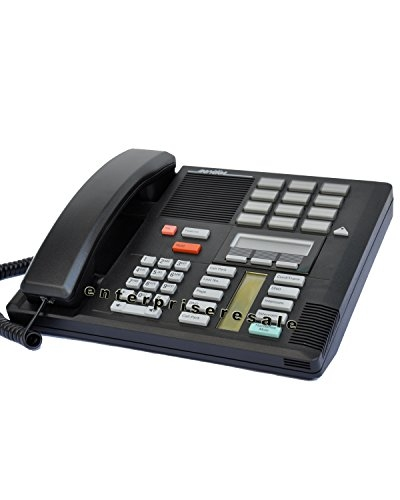 Nortel/Meridian M7310 PBX Black 4-7 Line Telephone with Speaker (Norstar NT8B20)
