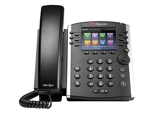 Polycom VVX 401 2200-48400-025 12-line Business Media Phone – AC Adapter Not Included
