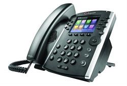 Polycom VVX 411 2200-48450-025 PoE 12-Line IP Phone