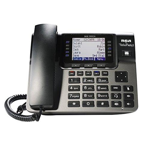 RCA Unison U1000 Dect 6.0 10-Handset 4-Line Landline Telephone