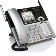 VTech CM18445 Main Console – DECT 6.0 4-Line Expandable Small Business Office Phone with Answering System